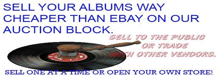 Sell Your Vinyl Records Cheaper Then Ebay