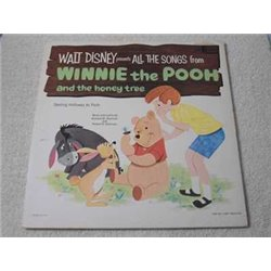 Walt Disney - Winnie The Pooh And The Honey Tree LP Vinyl Record For Sale