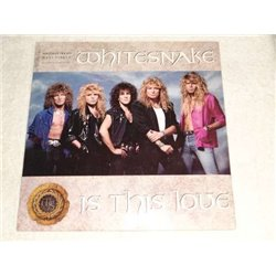 Whitesnake - Is This Love Maxi Single LP Vinyl Record For Sale