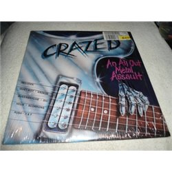 Crazed - An All Out Metal Assault LP Vinyl Record For Sale