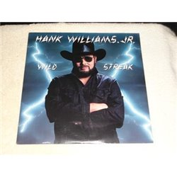 Hank Williams Jr. - Wild Streak LP Vinyl Record For Sale
