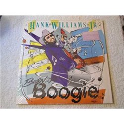 Hank Williams Jr - Born To Boogie LP Vinyl Record For Sale