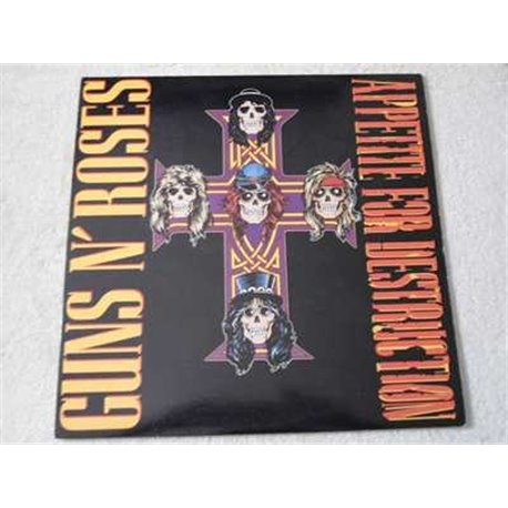 Guns n Roses - Appetite For Destruction 1987 LP