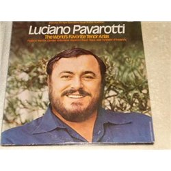 Luciano Pavarotti - The Worlds Famous Tenor Arias LP