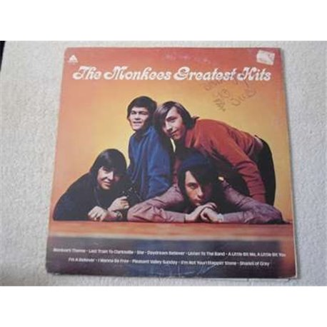 The Monkees - Greatest Hits LP Vinyl Record