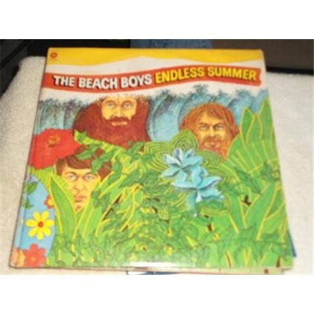 The Beach Boys Endless Summer Double LP Gatefold With Poster