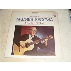 Andres Segovia - A Bach Recital LP