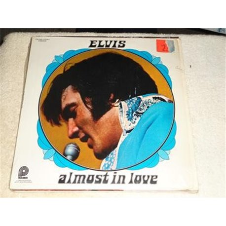 Elvis - Almost In Love LP