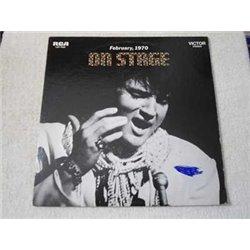 Elvis - On Stage Vinyl LP Record For Sale