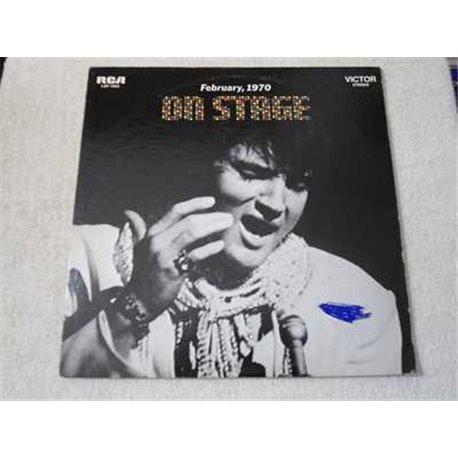 Elvis - On Stage LP