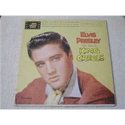 Elvis - King Creol Vinyl LP Soundtrack RARE Hollywood Press
