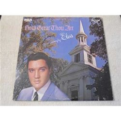 Elvis - How Great Thou Art LP Vinyl Record For Sale