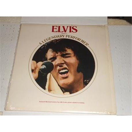 Elvis - Legendary Performer Volume 1 - With Booklet