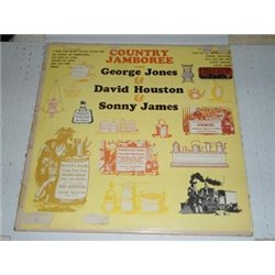 Country Jamboree - Featuring George Jones, David Houston, & Sonny James LP