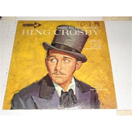 Bing Crosby - Easy To Remember LP