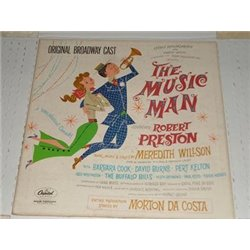 The Music Man - Broadway Starring Robert Preston LP
