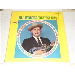 Bill Monroe - Greatest Hits LP Vinyl Record For Sale