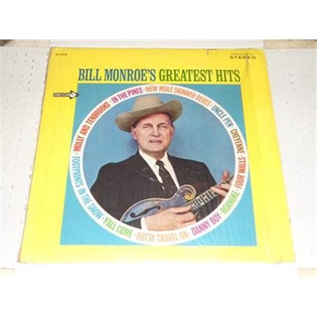 Bill Monroe - Greatest Hits LP
