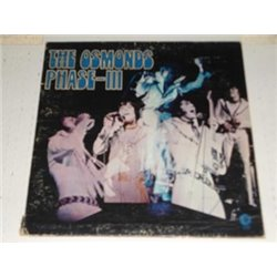 The Osmonds - Phase III LP Vinyl Record For Sale