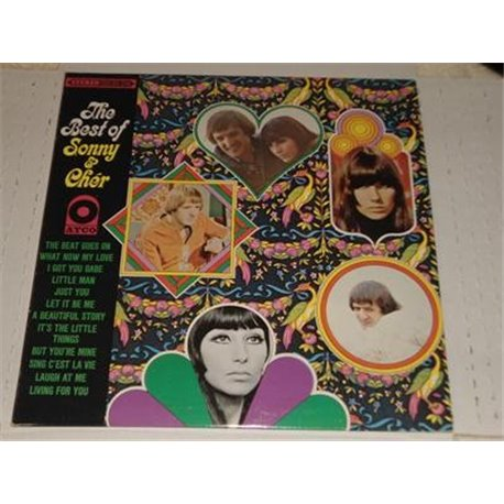 Sonny and Cher - The Best Of LP For Sale
