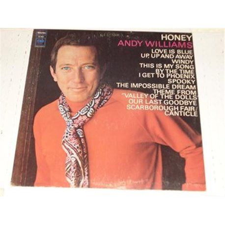 Andy Williams - Honey Vinyl LP For Sale