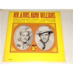 Hank Williams - Mr and Mrs Hank Williams Vinyl LP For Sale