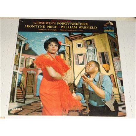 Porgy and Bess - Gershwin Price Warfield LP Vinyl Record For Sale