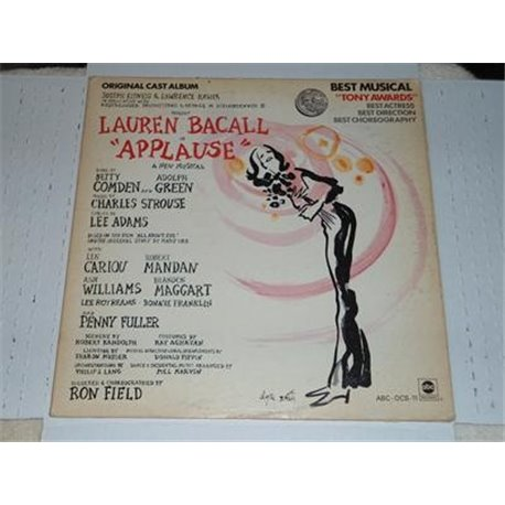 Applause - Original Cast Album With Lauren Bacall LP For Sale