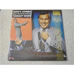 Johnny Carson - Heres Johnny Tonight Show LP Vinyl Record For Sale