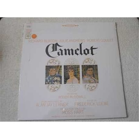 Camelot - Original Broadway Cast Muscial LP Vinyl Record