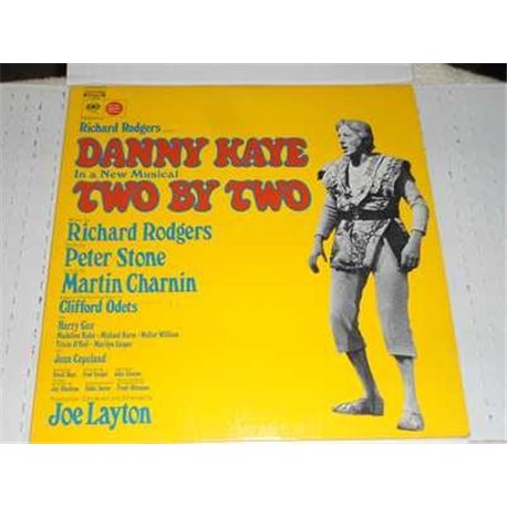 Danny Kaye - Two By Two - Original Cast Musical Vinyl LP For Sale