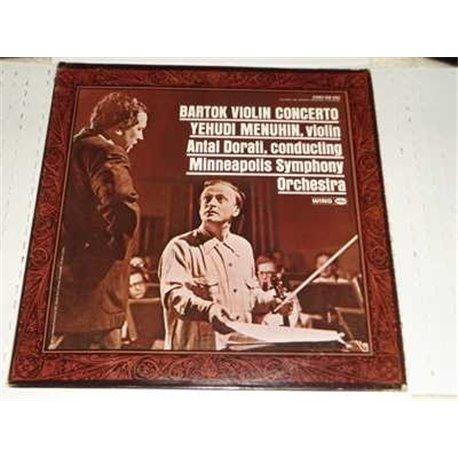 Béla Bartók - Voilin Concerto Yehudi Menuhin Vinyl Lp For Sale
