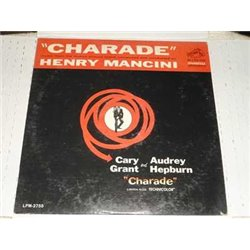 Charade - Motion Picture Soundtrack - Henry Mancini LP For Sale