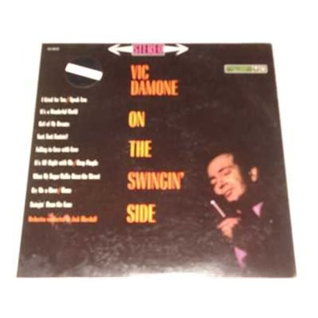 Vic Damone - On The Swingin Side Vinyl LP For Sale