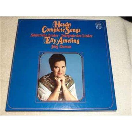 Elly Ameling - Jorg Demus - Haydn Complete Songs Vinyl Lp For Sale