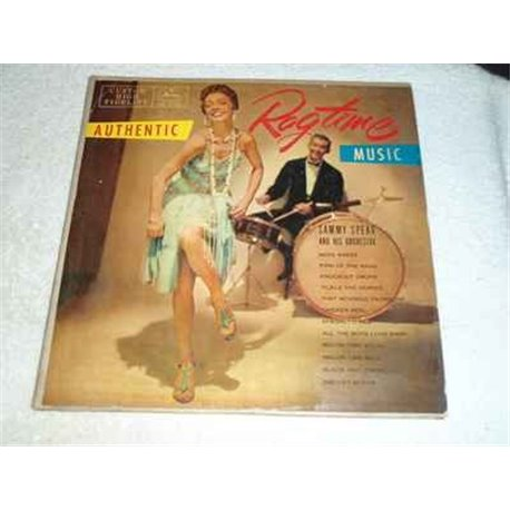 Authentic Ragtime Music - Sammy Spear Orchestra LP For Sale