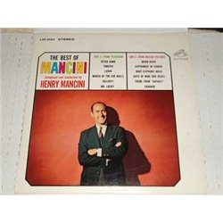 Henry Mancini - The Best Of Mancini Vinyl LP For Sale