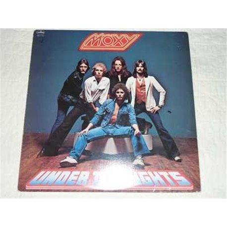 Moxy - Under The Lights Vinyl Lp For Sale