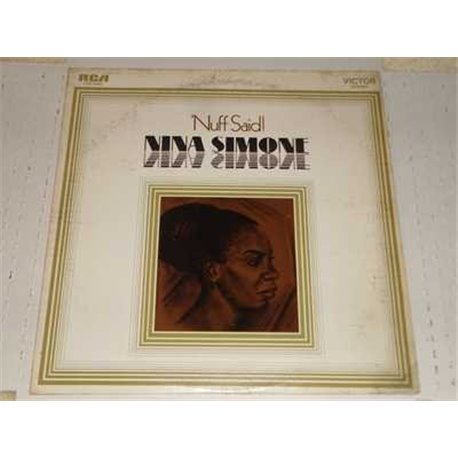 Nina Simone - Nuff Said Vinyl LP For Sale