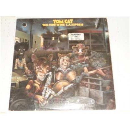 Tom Scott And The LA Express - Tom Cat PROMO Vinyl LP For Sale