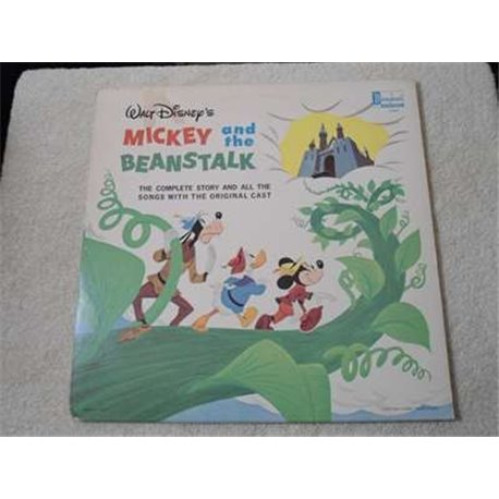Mickey and the Beanstalk - Vintage Walt Disney Vinyl LP With 10 Page Gatefold Book For Sale