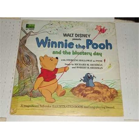 Winnie The Poo And The Blustery Day - Walt Disney LP 11 Page Gatefold For Sale