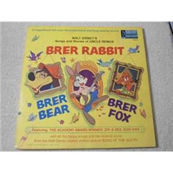 Walt Disney - Brer Rabbit LP Vinyl Record For Sale