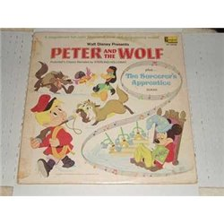 Peter and the Wolf |The Sorcerers Apprentice - Disney Gatefold Book LP For Sale