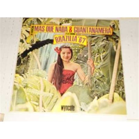 Brazilia 67 - Mas Que Nada and Guantanamera Latin Vinyl LP For Sale