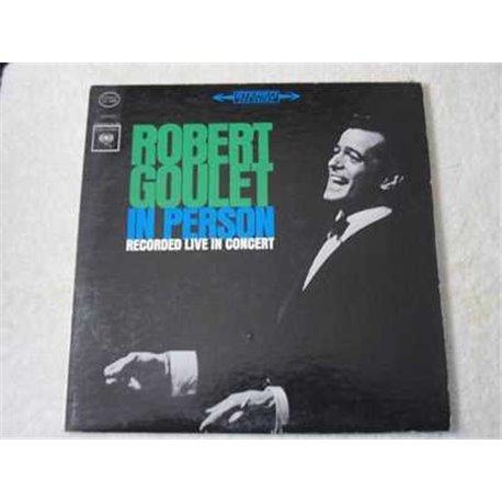 Robert Goulet - In Person Concert Vinyl LP For Sale