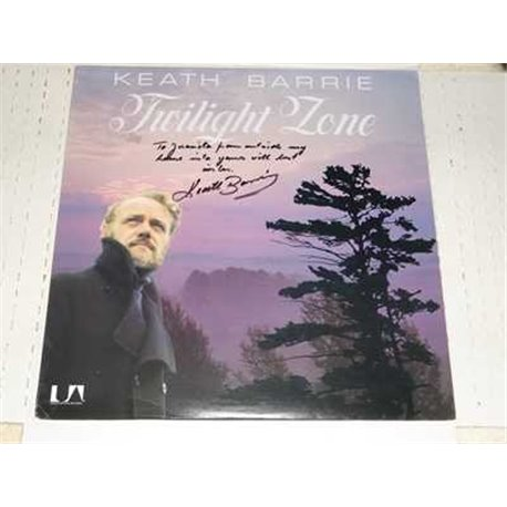 Keath Barrie - Twilight Zone Autographed Vinyl Lp For Sale