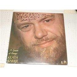 Keath Barrie - A Season Of Change Autographed Vinyl LP For Sale