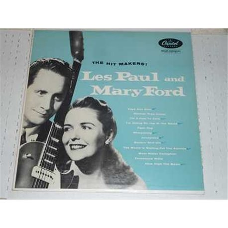 Les Paul and Mary Ford - The Hit Makers Vinyl LP For Sale