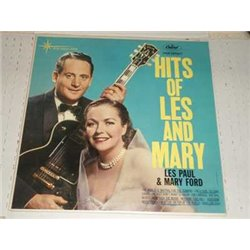 Hits Of Les Paul and Mary Ford Vinyl LP For Sale
